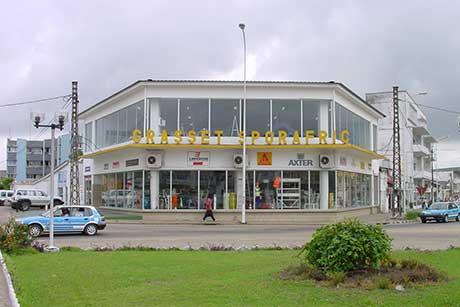 Sporafric Bâtiment & Industrie, rond point Kassai en 2006