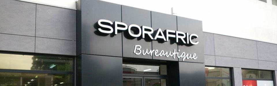 Sporafric Bureautique à Pointe-Noire