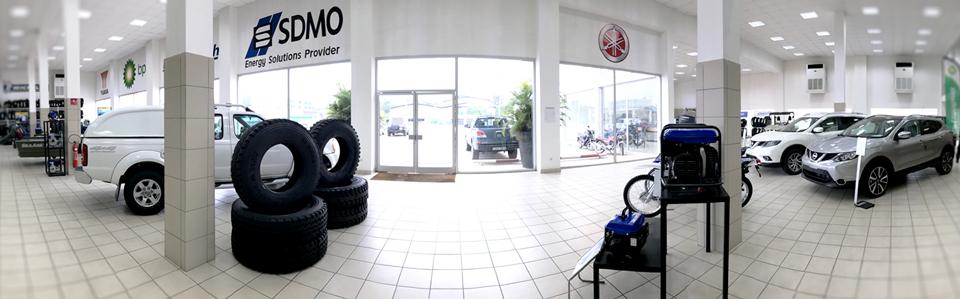 Sporafric Motors à Pointe-Noire